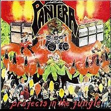 Pantera : Projects in the Jungle. Album Cover