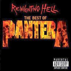 Pantera : Reinventing Hell - The Best of Pantera. Album Cover