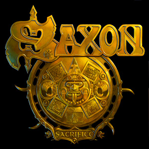 Saxon : Sacrifice. Album Cover