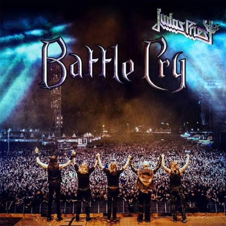 Judas Priest : Battle Cry. Album Cover