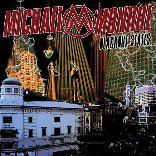 Monroe, Michael : Blackout States. Album Cover
