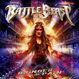 Battle Beast : Bringer Of Pain . Album Cover