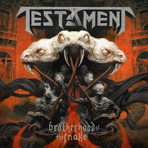 Testament : Brotherhood of the Snake. Album Cover