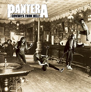 Pantera : Cowboys from hell (Expanded Edition Bonus cd). Album Cover