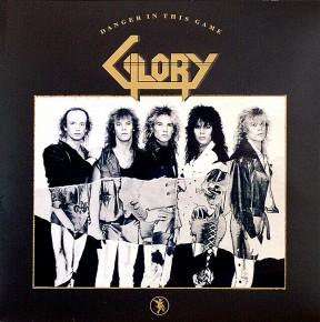Glory : Danger in This Game. Album Cover