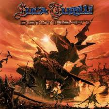 Turilli, Luca : Demonheart. Album Cover