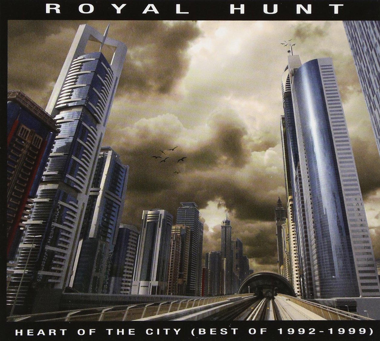 Royal Hunt : Heart of the City (Best of 1992-1999). Album Cover