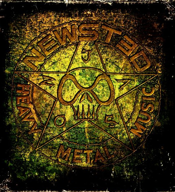Newsted : Heavy Metal Music. Album Cover