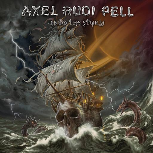 Pell, Axel Rudi : Into The Storm . Album Cover