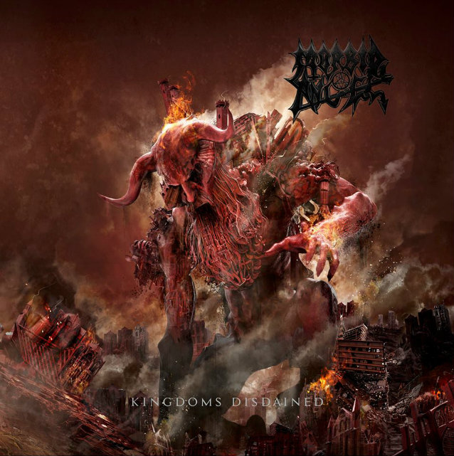 Morbid Angel : Kingdoms Disdained. Album Cover