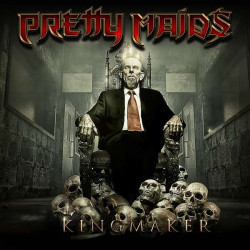 Pretty Maids : Kingmaker. Album Cover