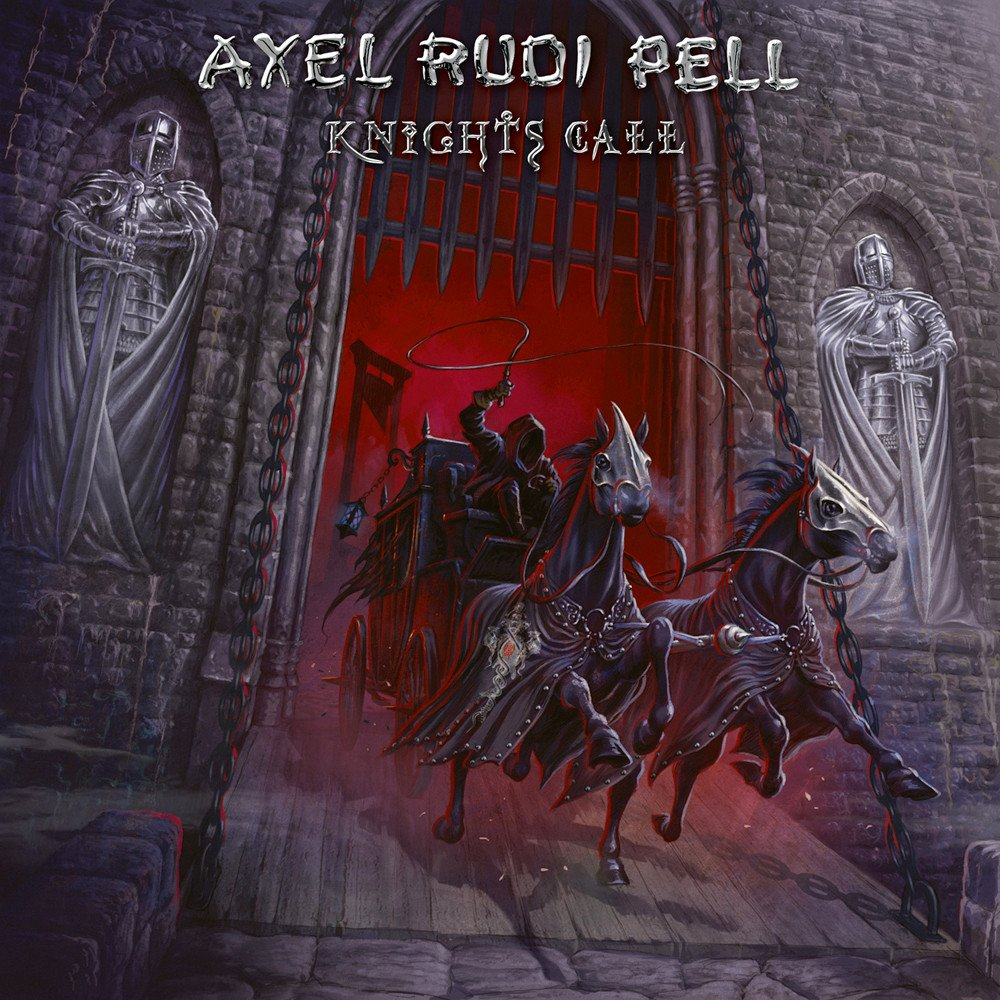 Pell, Axel Rudi  : Knights Call. Album Cover