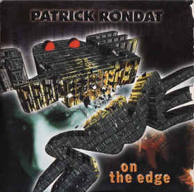 Rondat, Patrick : On The Edge. Album Cover