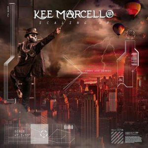 Kee Marcello : Scaling Up. Album Cover