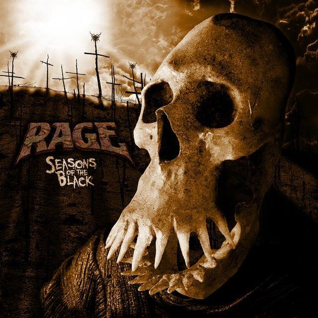 Rage : Seasons of the Black. Album Cover