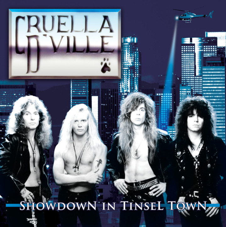 Cruella D'Ville : Showdown in Tinsel Town. Album Cover