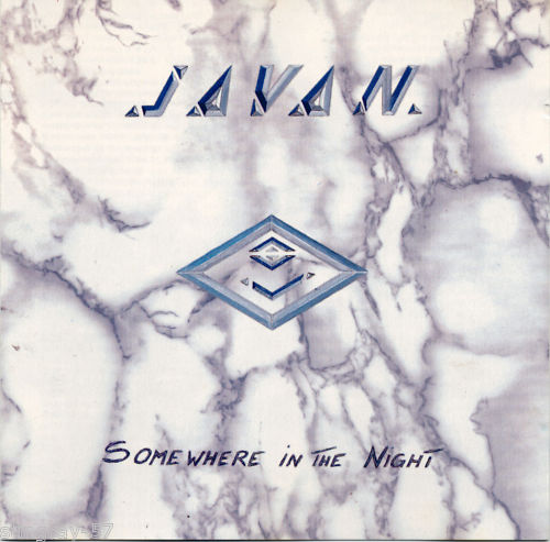 Javan  : Somewhere In The Night. Album Cover