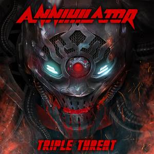Annihilator : Triple Threat. Album Cover