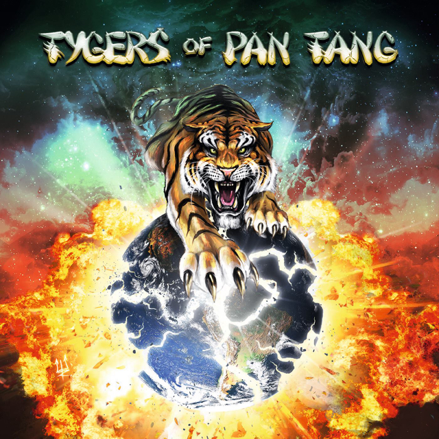 Tygers Of Pang Tang : Tygers Of Pang Tang. Album Cover