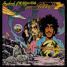 Thin Lizzy : Vagabonds Of The Westhern World. Album Cover