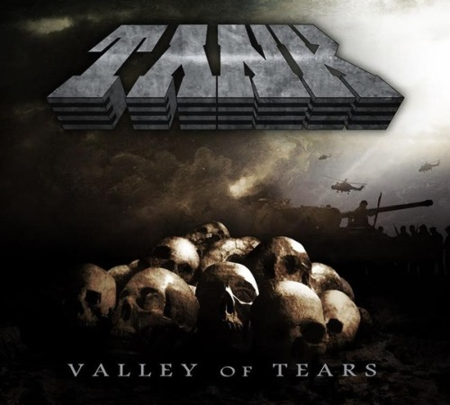 Tank : Valley Of Tears. Album Cover