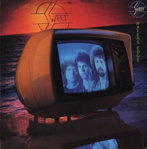 Sweet, The : Waters Edge. Album Cover