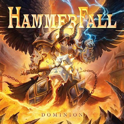 Hammerfall : Dominion. Album Cover