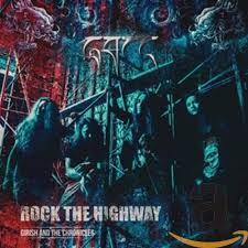 Girish And The Chronicles : Rock The Highway . Album Cover